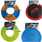 Nerf Dog Flying Disc Toy 23-26cm rubber nylon soft pull disk exercise pet play