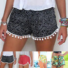 Pretty Womens Ladies High Waist Summer Casual Floral Beach Hot Pants Shorts