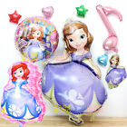Disney Princess Sofia The First Foil Balloon Kids Girl Party Favor Supply Props