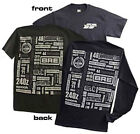 BRE History short and long sleeved shirt Black sold by Peter Brock BRE