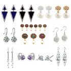1 Pair Fashion Elegant Women jewelry Rhinestone Dangle Stud Hook Earrings Gift
