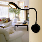 Flexible Pipe 3W/5W LED Wall Sconce Lamp Picture Light On/Off Button Bedroom Pub