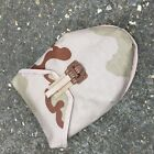 DUTCH ARMY SURPLUS ISSUE TRI COLOUR DESERT CORDUR ENTRENCHING TOOL WEBBING POUCH