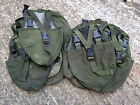 BRITISH ARMY SURPLUS ISSUE GREEN IRR PLCE ENTRENCHING TOOL WEBBING POUCH,SPADE