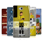OFFICIAL STAR TREK ICONIC CHARACTERS TOS SOFT GEL CASE FOR SONY PHONES 3
