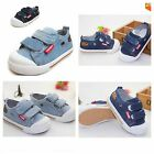 New Kids Canvas Shoes Boys Girls Denim Fashion Sneakers Children Baby 1-3Y