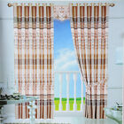 HIGA Brand New Home Multi-color 1 Pc Jacquard Blackout Window Panels Curtains