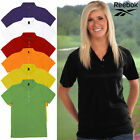 Reebok Women's 100% Cotton Polo Sports Shirt 4 Button