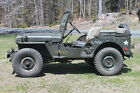 Willys M38 Korean War WWII military army jeep Willys MB Ford GPW