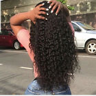 Brazilian Curly Lace Front Human Hair Wigs Black Women Remy Curly Hair Full Lace