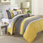Euphoria Yellow Comforter Bed In A Bag Set 12 piece
