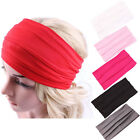 Yoga Headband Wide SportsStretch Turban Headwear Elastic Hair Band