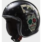 Casque LS2 OF583.30 BOBBER TATTOO Noir - Promo