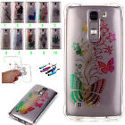 New Pattern Slim Soft Silicone TPU Rubber Back Case Cover For LG Optimus Phone
