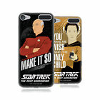 OFFICIAL STAR TREK ICONIC PHRASES TNG SOFT GEL CASE FOR APPLE iPOD TOUCH MP3