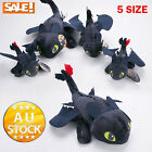45CM Doll BIG How to Train Your Dragon Plush Toothless Night Fury Soft Toy Teddy