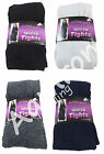 Girls Super Soft Cotton Rich Footed Tights SCHOOL PARTY CHILDRENS KIDS