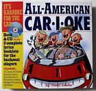 Backseat Karaoke for Car, Family Travel Fun - CD, Book 3 Extra Song Books New