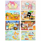 SANRIOKITTY MELODY LITTLE TWIN STARS GUDETAMA SNOOPY PVC CARD HOLDER
