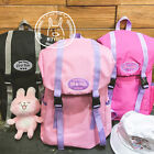 1PC New Women Men Embroidery Backpack School Bag For School Holiday Camping