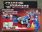 Vintage 1985 TRANSFORMERS CITY COMMANDER ULTRA MAGNUS  w/box Hasbro