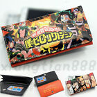 Anime MY Hero Academia Wallet Purse Handbag Button Layers Cards HolderGifts
