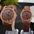 Vintage Wooden Watches Fashion Women Quartz Watch Wristwatches Gift Good-looking