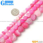 """Plum Agate Gemstone Frost Round Beads Free Shipping Strand 15"""" 6mm 8mm 10mm 12mm"""