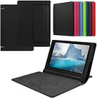 "Slim Folio Book Case Cover for Lenovo Yoga Tab 3 10.1"" Inch Tablet YT3-X50F"