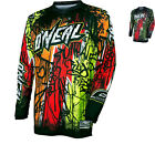 Oneal Element 2017 Vandal Motocross Jersey O'Neal Off Road Racing Gear Clothing