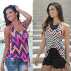 Fashion Women Summer Vest Top Sleeveless Blouse Casual Tank Tops T-Shirt S-XL