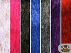 "Faux Fur Long Pile ELECTRIC TINSEL Sparkling Fabrics / 66"" Wide / Sold BTY"