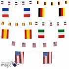 New 6m Paper Pennant Country Flag Garland Bunting Festival Pub Party Decoration