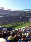 4 New York Giants vs New Orleans Saints Tickets 09 18 16 Lower Level W Parking