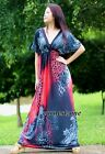 Plus Size Maxi Dress Party Evening Leopard Print Wedding Long Red XL 2X 3X 4X 5X