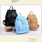 Women Girls Backpacks Travel PU Leather Handbag Rucksack Shoulder School Bag New