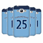 MAN CITY FC PLAYER HOME KIT 2016/17 2 ÉTUI COQUE EN GEL POUR SAMSUNG PHONES 4
