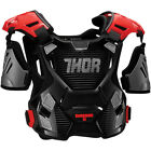 Thor Mens Black/Red Guardian Dirt Bike Chest Roost Protector MX ATV MTB BMX 2017