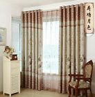 "Asian Chinese Style ""Hetang Yuese"" Living room Bedroom Blockout Curtains Eyelet"