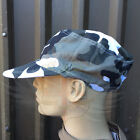 NEW ARMY STYLE URBAN CAMOUFLAGE FATIGUE PEAKED COTTON BASEBALL CAP,GREY WHITE