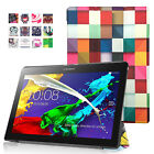 ART THIN CASE COVER, SCREEN PROTECTOR & STYLUS FOR LENOVO TAB 2 A10-70/A10-30