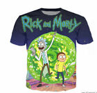 New Fashion Style Women's Men's Rick and Morty 3D Print Casual T-Shirt Tops Tee