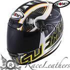 SUOMY APEX PIKE YELLOW FULL FACE MOTORCYCLE MOTORBIKE HELMET