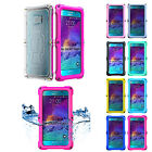 Waterproof IP68 Diving Sport Dirt Snowproof Case Cover For Samsung Galaxy Note 5