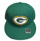 Green Bay Packers NFL Vintage Team Logo Fitted Cap (Green) Reebok NWT Mens Sizes on eBay