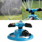 360° Lawn Circle Rotating Water Sprinkler 12 nozzles Garden Pipe Hose Irrigation