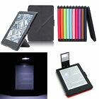 Smart Origami Case Cover with Stand & Reading Light For New Kindle 8 (2016)