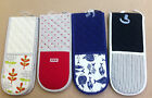 Thick Double Oven Gloves Cooking Kitchen Heat Resistant Mitt Mittens 100% Cotton
