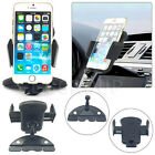 Universal 360° Car Air Vent Windshield Mount Holder +Suction Cup For Cell Phones