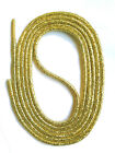 SHOELACES ROUND LACES - GOLD - 4 Lengths - Replacement shoelaces